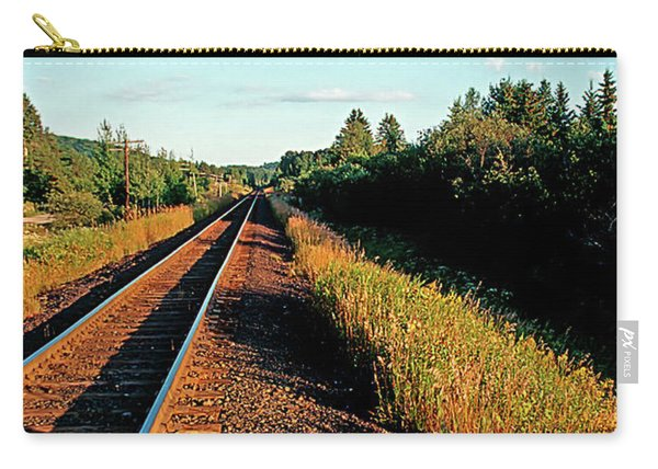 Rural Country Side Train Tracks Carry-all Pouch