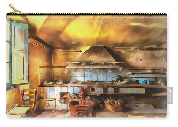 Rural Culinary Atmosphere Nr 2 - Atmosfera Culinaria Rurale IIi Paint Carry-all Pouch
