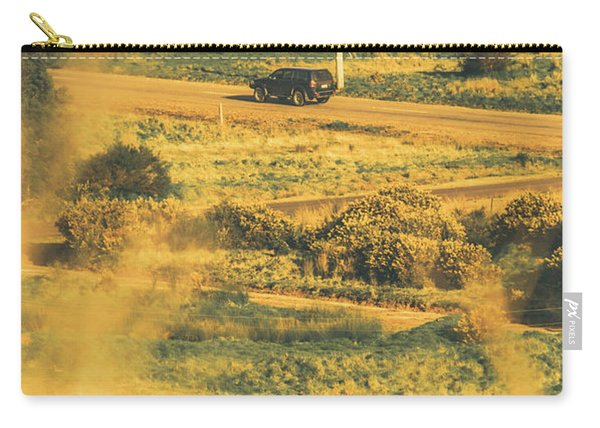 Rural Tasmania Landscape At Summer Carry-all Pouch