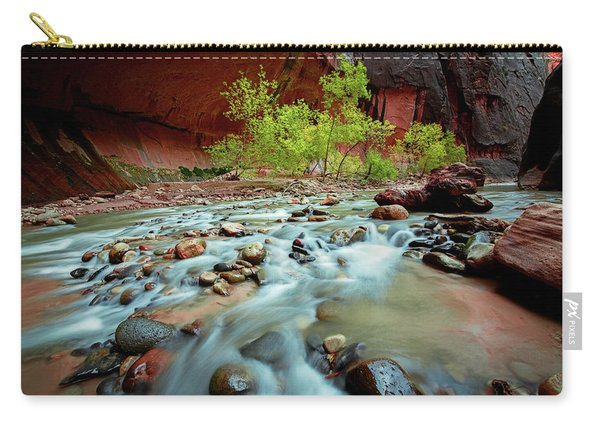 Rush At Narrows Carry-all Pouch