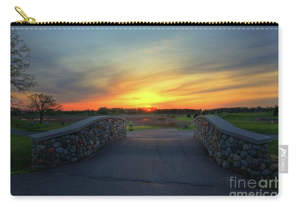 Rush Creek Golf Course The Bridge To Sunset Carry-all Pouch