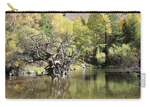 Carry-all Pouch featuring the photograph Rush Creek In Autumn by Sean Sarsfield