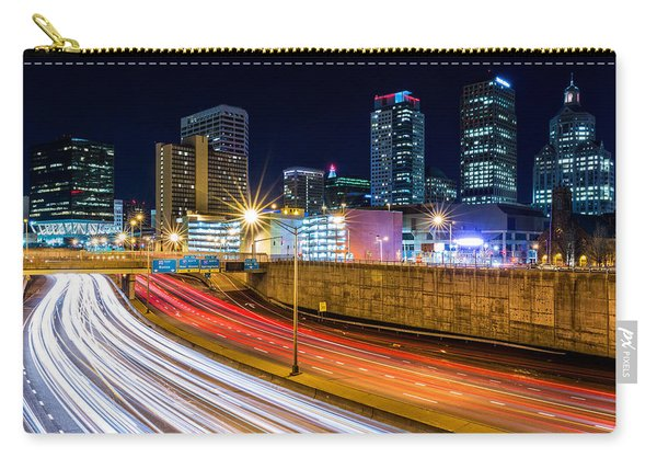 Rush Hour In Hartford, Ct Carry-all Pouch