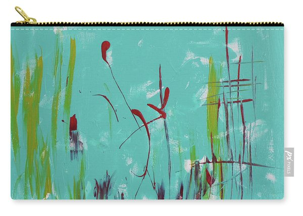 Rushes And Reeds Carry-all Pouch