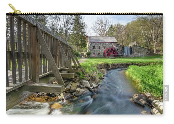 Rushing Water At The Grist Mill Carry-all Pouch