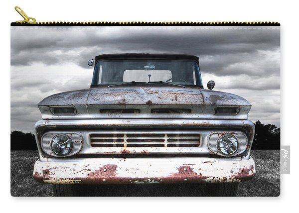 Rust And Proud - 62 Chevy Fleetside Carry-all Pouch