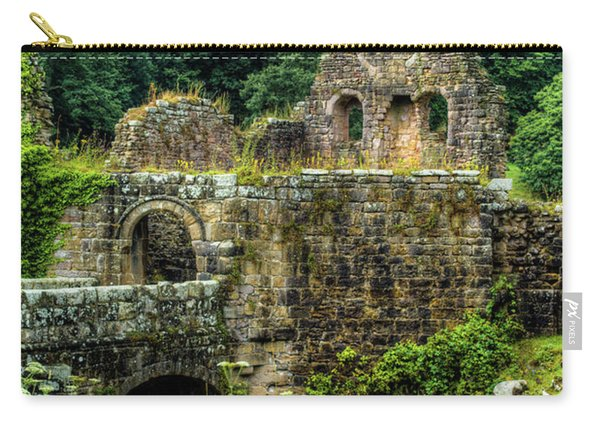 Rustic Abbey Remains Carry-all Pouch