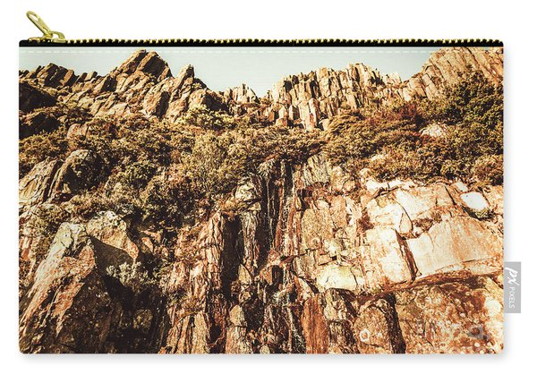 Rustic Cliff Spring Carry-all Pouch