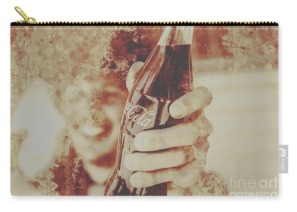 Rustic Drinks Advertising  Carry-all Pouch