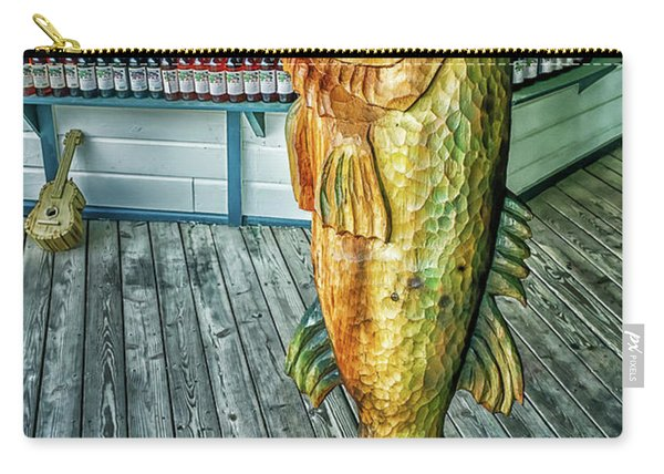 Rustic Fish Carry-all Pouch