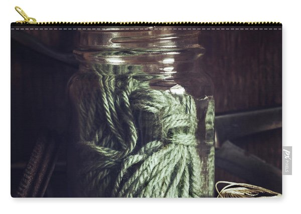 Rustic Green Carry-all Pouch