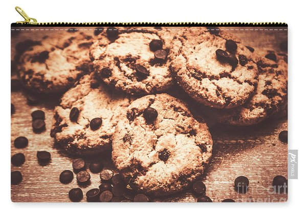 Rustic Kitchen Cookie Art Carry-all Pouch