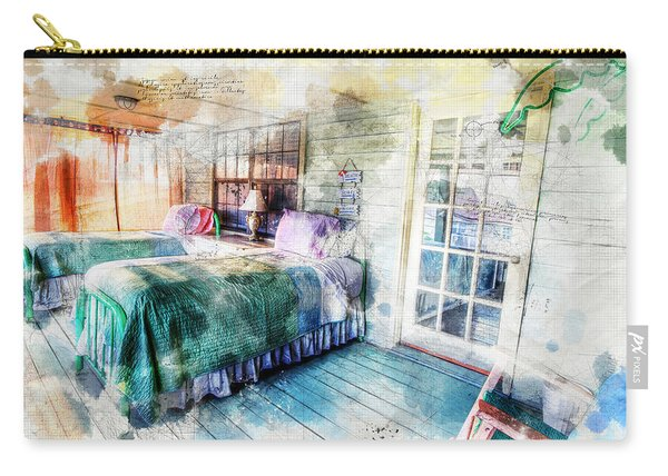 Rustic Look Bedroom Carry-all Pouch