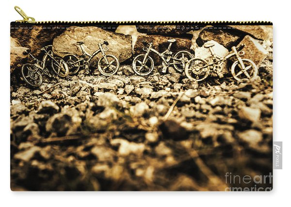 Rustic Mountain Bikes Carry-all Pouch