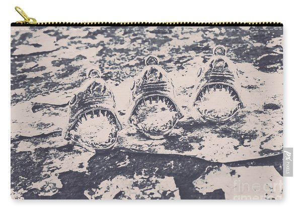 Rustic Nautical Artwork Carry-all Pouch
