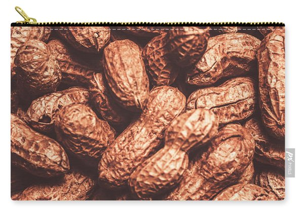 Rustic Nuts Background  Carry-all Pouch
