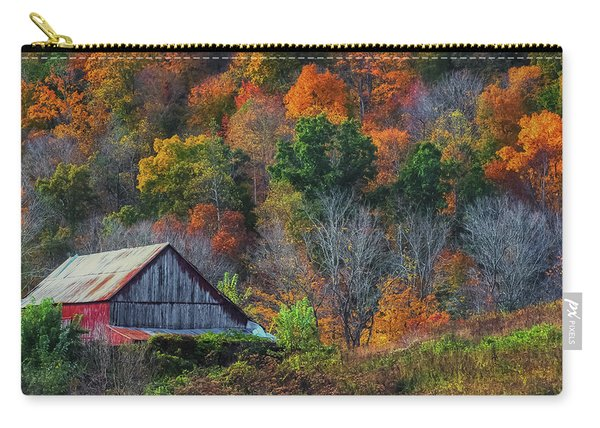 Rustic Out Building In Southern Ohio  Carry-all Pouch