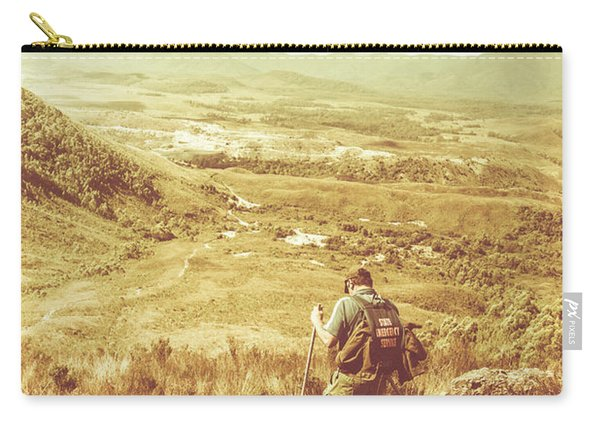 Rustic Rural Bushwalking Landscape Carry-all Pouch