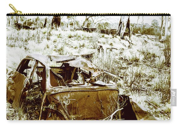 Rustic Rural Decay Carry-all Pouch