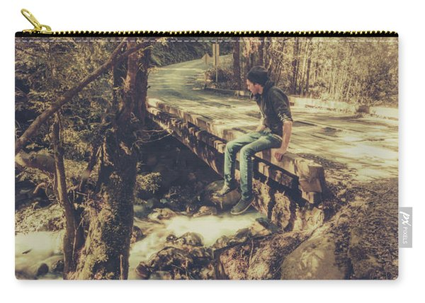 Rustic Rural Retreat Carry-all Pouch