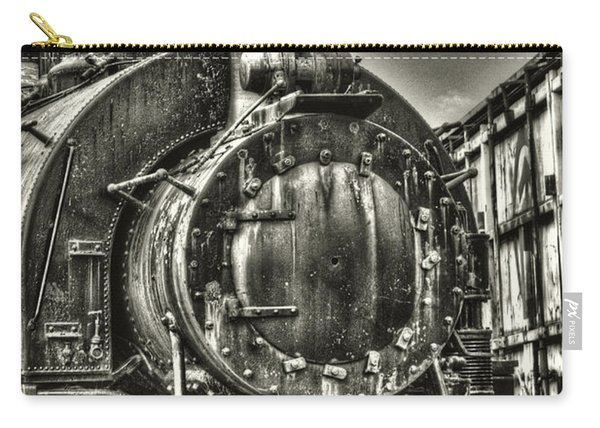 Rusting Locomotive Carry-all Pouch