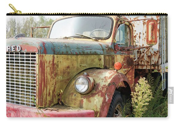 Rusty And Crusty Reo Truck Carry-all Pouch