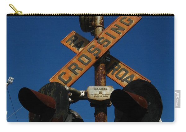 Rusty Crossing Signal Carry-all Pouch
