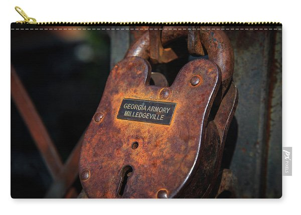 Rusty Lock Carry-all Pouch