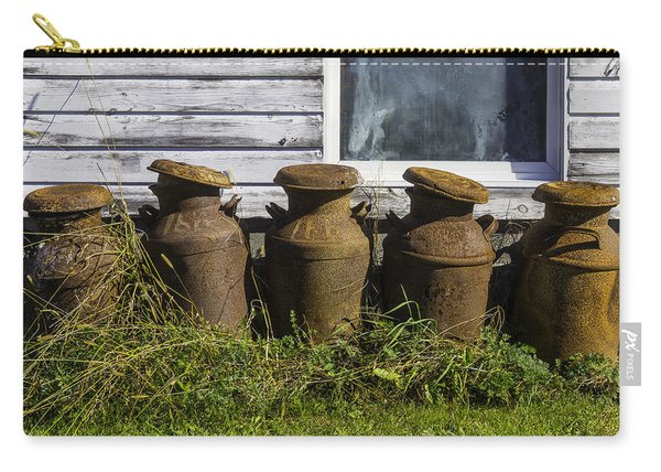 Rusty Milk Cans Carry-all Pouch