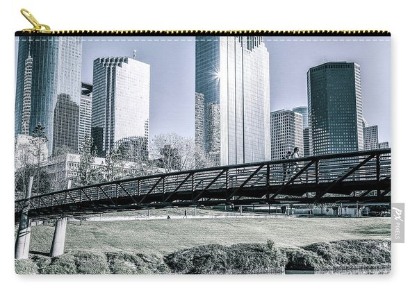 Sabine Promenade Over Buffalo Bayou Carry-all Pouch