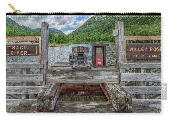 Saco River At Willey Pond Carry-all Pouch
