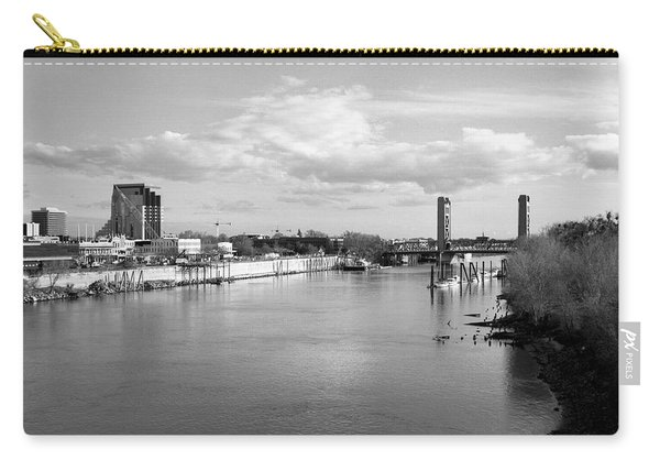 Sacramento River And Tower Bridge 1985 Carry-all Pouch