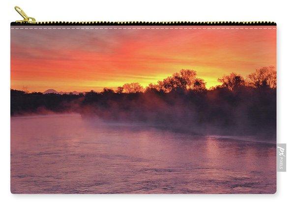 Sacramento River Sunrise Carry-all Pouch