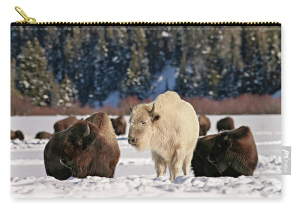 Sacred Bison Carry-all Pouch