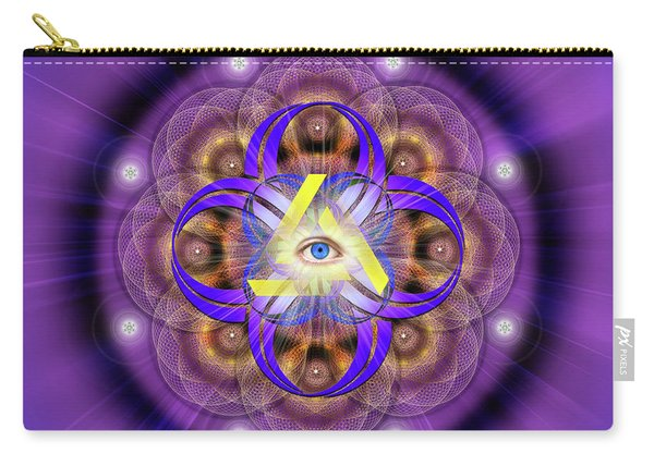Sacred Geometry 639 Carry-all Pouch