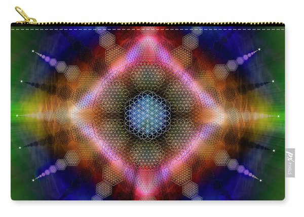 Sacred Geometry 645 Carry-all Pouch