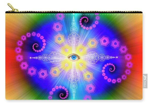 Sacred Geometry 653 Carry-all Pouch