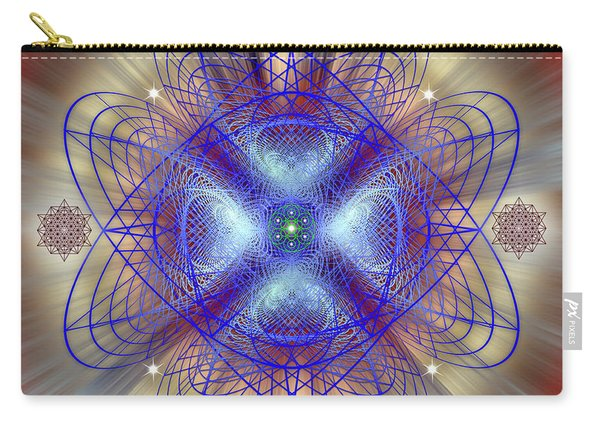 Sacred Geometry 656 Carry-all Pouch