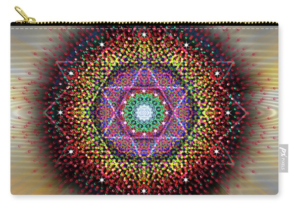 Sacred Geometry 657 Carry-all Pouch