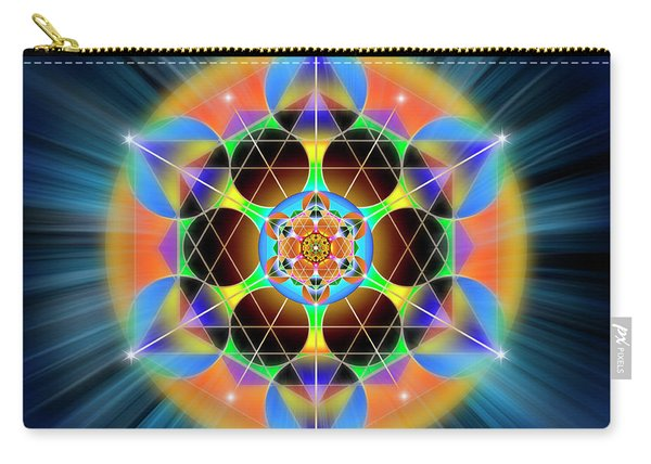 Sacred Geometry 709 Carry-all Pouch