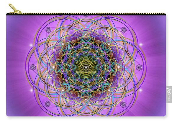 Sacred Geometry 715 Carry-all Pouch
