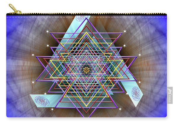 Sacred Geometry 717 Carry-all Pouch