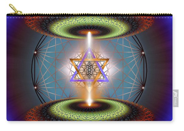 Sacred Geometry 718 Carry-all Pouch
