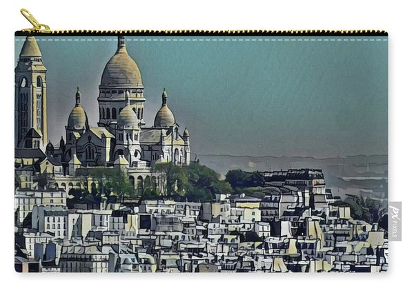 Sacred Heart Basilica Carry-all Pouch