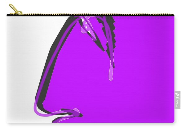 Sad Grape Carry-all Pouch