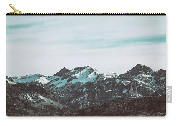 Carry-all Pouch featuring the photograph Saddle Mountain Morning by Jason Coward