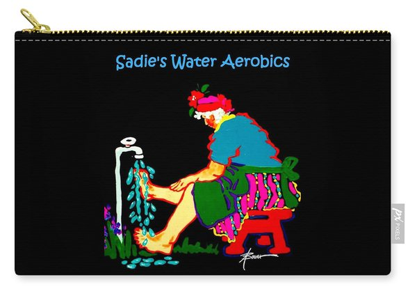 Sadie's Water Aerobics  Carry-all Pouch