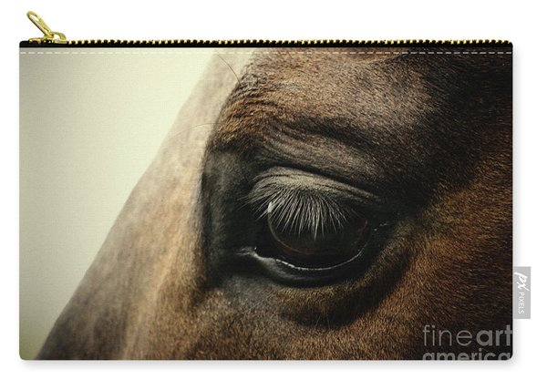 Sadness Horse Eye Carry-all Pouch