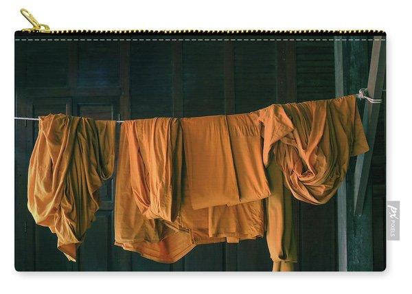 Saffron Robes Carry-all Pouch