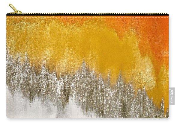 Saffron Sunrise Carry-all Pouch
